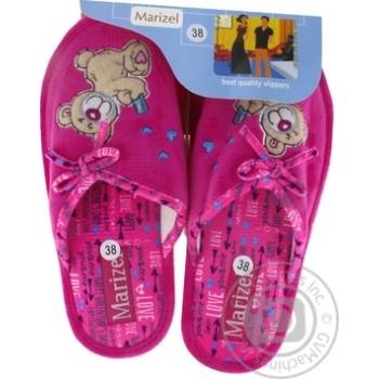 Обувь женская Marizel комнатная Huk 770 - купить, цены на Фуршет - фото 1
