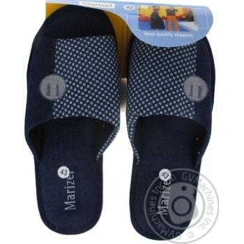 Взуття Marizel кімнатне чоловіче 773 HUK - купити, ціни на Фуршет - фото 1