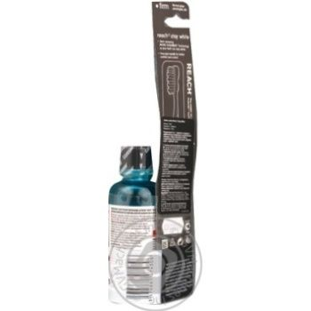Зубна щітка Reach Stay White жорстка - купити, ціни на Восторг - фото 6