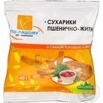 Сухарики По-нашому житньо-пшенична з хроном 40г Україна