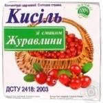 Кисель Сфера клюква для десертов 160г Украина