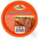 Pasta Vomond fish smoked for sandwich 125g Ukraine