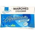 Mayonnaise Po-nashomu Chudoviy 50% 180g Ukraine