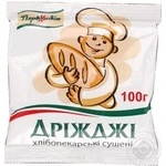 Yeast Pervocvit dried for desserts 100g Ukraine
