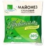 Mayonnaise Po-nashomu Salad 30% 400g Ukraine