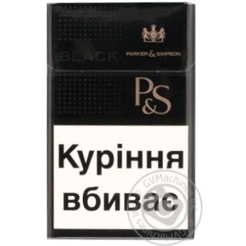 Сигареты Parker&Simpson Black - купить, цены на Фуршет - фото 5