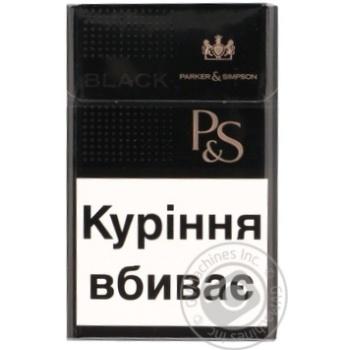 Сигареты Parker&Simpson Black - купить, цены на Фуршет - фото 7