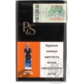 Сигареты Parker&Simpson Black - купить, цены на Фуршет - фото 2