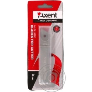 Леза Axent для ножів 18мм - купити, ціни на Метро - фото 1