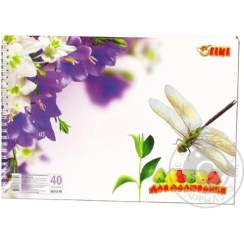 Tiki Drawing Album 40 Sheets 50212