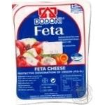 Сыр Додони фета мягкий рассольный 43% 200г Греция