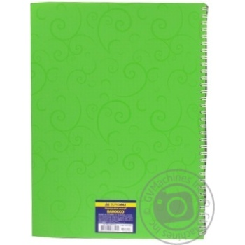 Buromax Barocco Notebook With Spring A4 80 Sheets - buy, prices for Novus - image 5