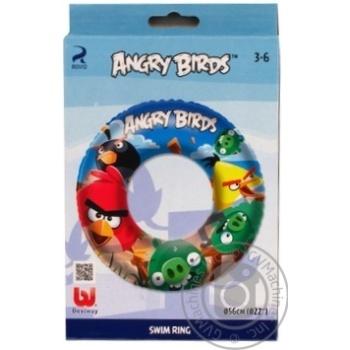 Круг для плавания Bestway Angry Birds 56см