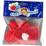 Набір надувних кульок Серця Свято Мрій 6шт