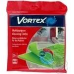 Серветки Vortex універсальні для прибирання 3шт