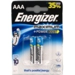 Батарейка Energizer LR03 MAX 1*2 2шт/уп