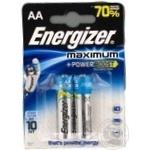 Батарейка Energizer LR06 MAXIMUM 1*2 2шт/уп