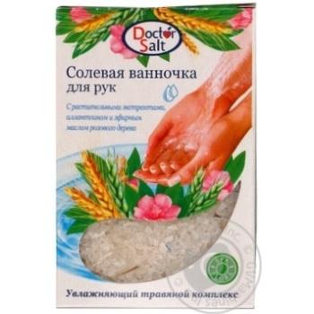Соль для ванн Doctor Salt для рук 100г - купить, цены на Фуршет - фото 1