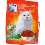 Food Offer with chicken dry for cats 400g Ukraine