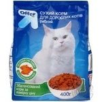 Food Offer of fish dry for cats 400g Ukraine