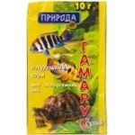 Корм Природа для рыбок 10г Украина