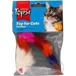 Игрушка Topsi Мышь пушистая для кошек