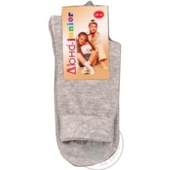 Duna Light Gray Children's Socks 22-24s - buy, prices for Furshet - image 5