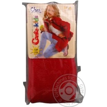 Колготки детские Conte Kids Class бордовые размер 128-134 192 - купить, цены на Фуршет - фото 1