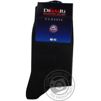 Sock Diwari Classic cotton for man 23-25 - buy, prices for Tavria V - image 1