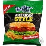 Сухарики Флінт зі смаком Гамбургер 90г