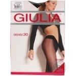 Колготи Giulia занижена талія Sensi 20 vita bassa cappuccino 3