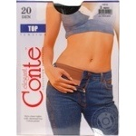 Tights Conte polyamide for women 20den 3size
