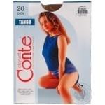 Колготи жiночi Tango Conte 20 розмiр 2 bronz