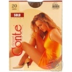 Tights Conte Solo bronze polyamide for women 20den 3size - buy, prices for Novus - image 3