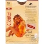 Tights Conte Solo bronze polyamide for women 20den 3size - buy, prices for Novus - image 2