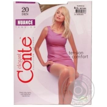 Колготы Conte Nuance 20 Den р.5 natural шт - купить, цены на МегаМаркет - фото 1