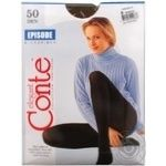 Tights Conte Episode mocha wool for women 50den 6size