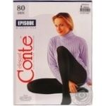 Tights Conte Episode mocha deniers for women 80den 5size