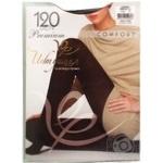 Колготки женские Интуиция Comfort 120 графит р.4 шт