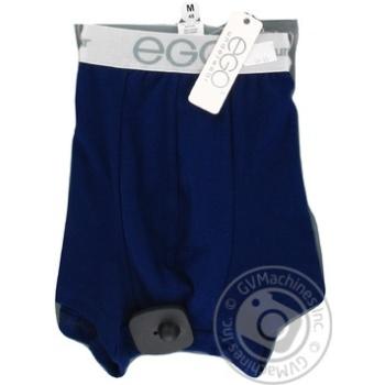 Труси-шорти чоловічі сині Однотонні Ego Sport MSН103 M, ОТ = 84-88, ОБ = 98-102, 1 шт