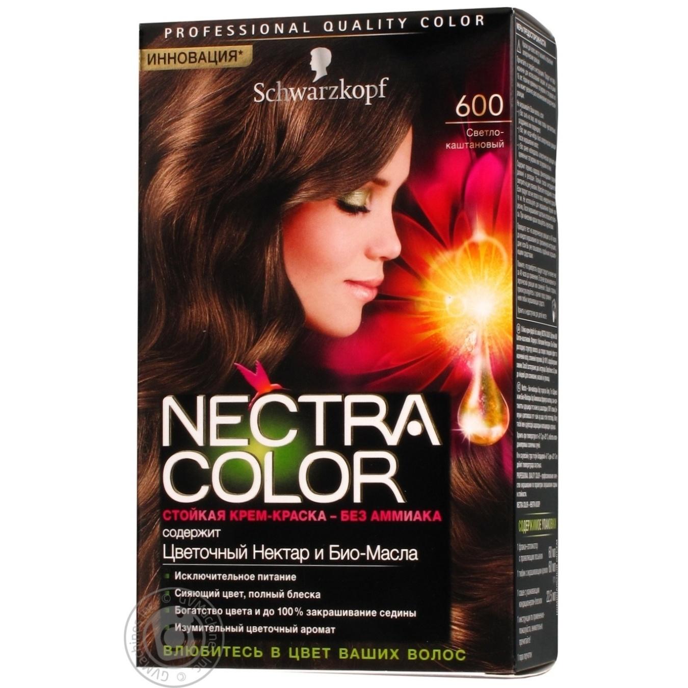 color schwarzkopf nectra light chestnut ammonia free for hair germany - Nectra Color Schwarzkopf
