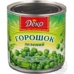 Vegetables pea Deko pea 425ml can
