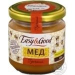 Honey Easy and good flowery 250g glass jar Ukraine