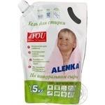Гель для стирки детского белья Alenka 1,5кг - купить, цены на Ашан - фото 2