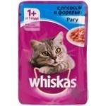 Консерва для котят Whiskas лосось форель 85г