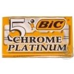 Bic Chrome Platinum Blades 5pcs
