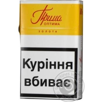 Cigarettes Prima Optima 25g