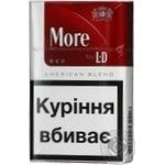 Сигареты More by LD Red пачка