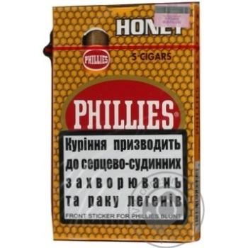 Сигари Phillies Blunt Honey 5шт