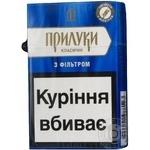 Цигарки з фільтром Прилуки Особливі Вишукані